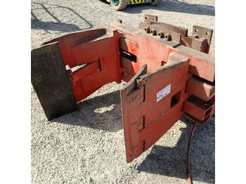 Hydraulic Rotating Roll Clamp to suit Forklift - σφιγκτήρας
