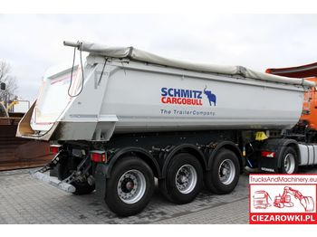 SCHMITZ CARGOBULL SGF TIPPER / 28 m3 / HARDOX / SAF /LIFT AXLE /2018R / LIKE NEW - ημιρυμουλκούμενος ανατρεπόμενο