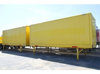 KRONE BODY BDF CONTAINER BOX CLOTHES CARRYING WK 7.7 NSTGI - κλειστά aμάξωμα