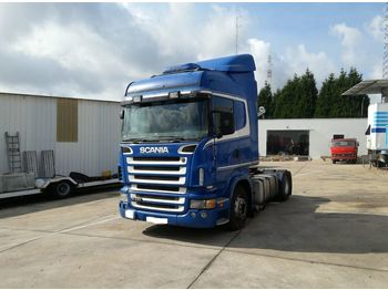 SCANIA R 420 left hand drive hydraulic kit manual retarder - τράκτορας