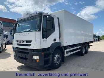 Iveco *360*EURO 5 EEV*KOFFER*3.ACHS*LENK/LIFTACHSE*  - φορτηγό κόφα