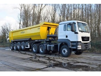 Φορτηγό MAN TGS 33.400 icw 4 axle tipper