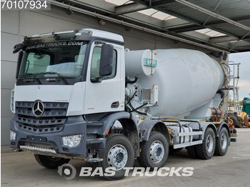Φορτηγό Mercedes-Benz Arocs 4142 B 8X4 Big-Axle SteelSuspension 12m3 Euro 6