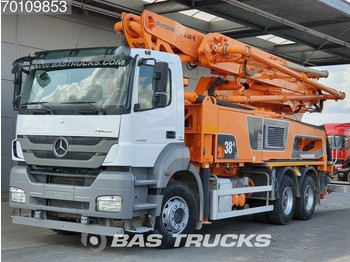 Φορτηγό Mercedes-Benz Axor 3340 K 6X4 Putzmeister 38-5 Manual Big-Axle Steelsuspension Euro 5